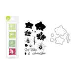 Hero Arts - Coloring Layering Bundle - Large Orchid