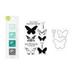 Hero Arts - Coloring Layering Bundle - Butterflies
