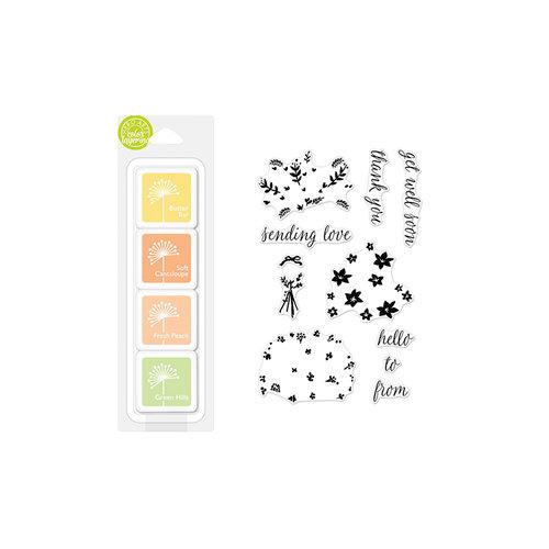 Hero Arts - Coloring Layering - Bouquet