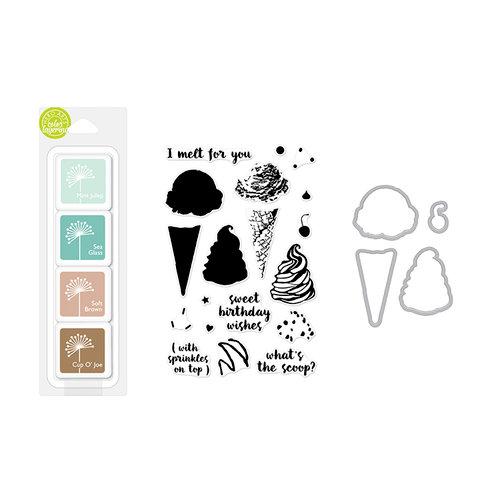 Hero Arts - Coloring Layering Bundle - Ice Cream