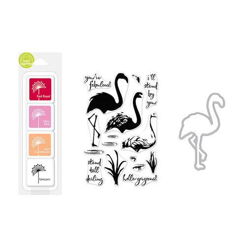 Hero Arts - Coloring Layering Bundle - Flamingo
