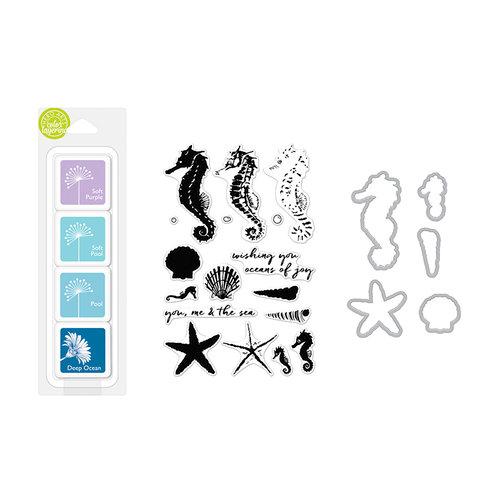 Hero Arts - Coloring Layering Bundle - Seahorse