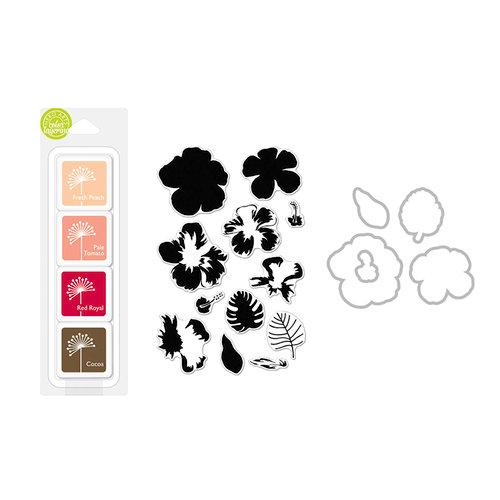 Hero Arts - Coloring Layering Bundle - Hibiscus