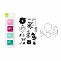 Hero Arts - Coloring Layering Bundle - For You Flowers