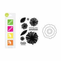 Hero Arts - Coloring Layering Bundle - Graphic Flowers
