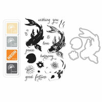 Hero Arts - Coloring Layering Bundle - Koi