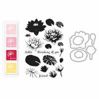 Hero Arts - Coloring Layering Bundle - Water Lilies