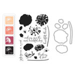 Hero Arts - Parisian Style Collection - Coloring Layering Bundle - Poppy