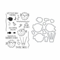 Hero Arts - Die and Clear Photopolymer Stamp Set - I'm A Puffer For You