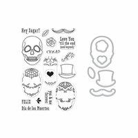 Hero Arts - Die and Clear Photopolymer Stamp Set - Sugar Skulls