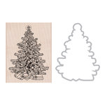 Hero Arts - Die and Clear Acrylic Stamp Set - Classic Christmas