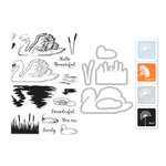 Hero Arts - Coloring Layering Bundle - Swan