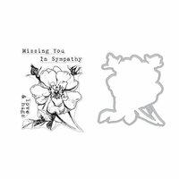Hero Arts - Die and Clear Photopolymer Stamp Set - Hero Florals - Rose Stem