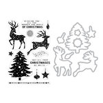 Hero Arts- Season of Wonder Collection - Die and Clear Photopolymer Stamp Set - Wonder and Magic of Christmas