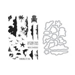 Hero Arts - Die and Clear Photopolymer Stamp Set - Color Layering Sea & Sky