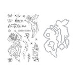 Hero Arts - Die and Clear Photopolymer Stamp Set - Fairy Kisses