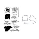 Hero Arts - Die and Clear Photopolymer Stamp Set - Color Layering Calla Lily
