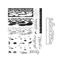 Hero Arts - Die and Clear Photopolymer Stamp Set - Lily Pond HeroScape