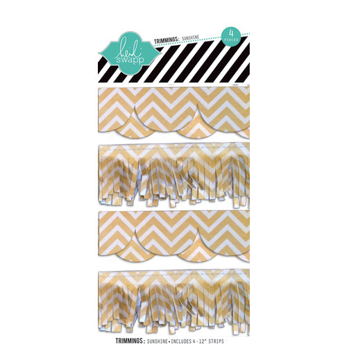 Heidi Swapp - No Limits Collection - Trimmings - Sunshine