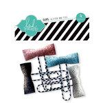 Heidi Swapp - Sugar Chic Collection - Glitter Bow Clips