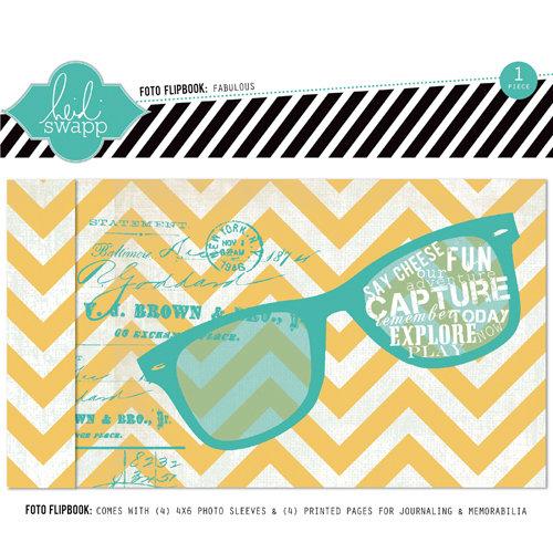 Heidi Swapp - Memory File Collection - Mini Album - Fabulous Foto Flipbook