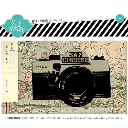 Heidi Swapp - Memory File Collection - Mini Album - Destination Foto Flipbook