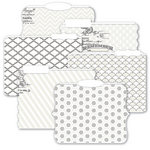 Heidi Swapp - Color Magic Collection - Resist Die Cut File Folders - Memory Files