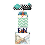 Heidi Swapp - No Limits Collection - Sentiment Storage - Mini Envelopes and Cards
