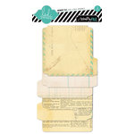 Heidi Swapp - Memory File Collection - FotoStack Openable - Staggered Paper Album