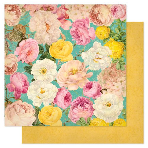 Heidi Swapp - Sugar Chic Collection - 12 x 12 Double Sided Paper - Beautiful