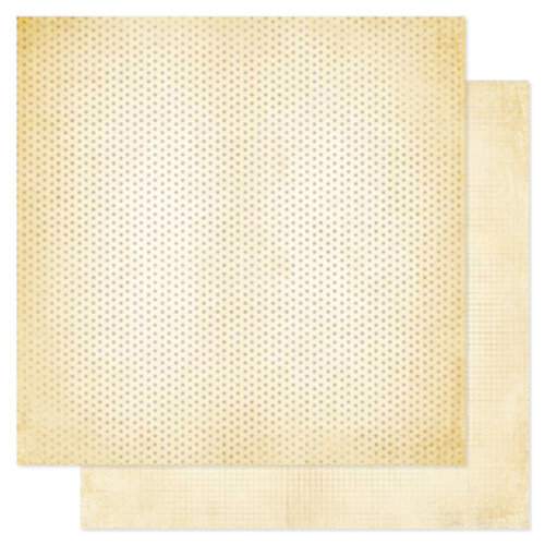 Heidi Swapp - Vintage Chic Collection - 12 x 12 Double Sided Paper - Just Dots