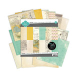 Heidi Swapp - Vintage Chic Collection - 8 x 8 Paper Pack