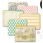 Heidi Swapp - Memory File Collection - Die Cut File Folders - Memory Files - Mini