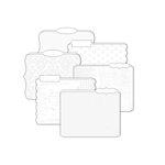 Heidi Swapp - Color Magic Collection - Resist Die Cut File Folders - Memory Files - Version 2, COMING SOON