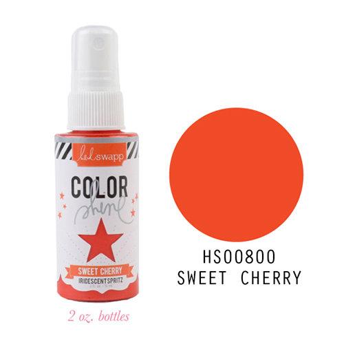 Heidi Swapp - Color Shine Iridescent Spritz - 2 Ounce Bottle - Sweet Cherry