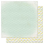 Heidi Swapp - Serendipity Collection - 12 x 12 Double Sided Patterned Paper - Softness