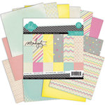 Heidi Swapp - Serendipity Collection - 6 x 6 Paper Pack