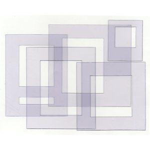 Heidi Swapp Ghost Shapes - Frames - Clear