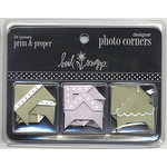 Heidi Swapp - Designer Photo Corners - Prim and Proper, CLEARANCE