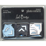Heidi Swapp - Designer Photo Corners - Ocean Blue, CLEARANCE