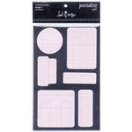Heidi Swapp - Journaling Spots - Ledger 2 - Pink, CLEARANCE