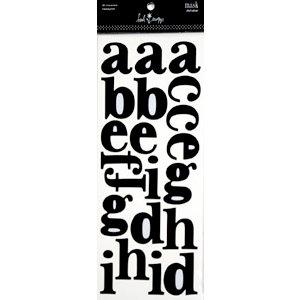 Heidi Swapp - Mask - Alphabet - Newsprint, CLEARANCE