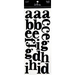 Heidi Swapp - Mask - Alphabet - Newsprint, CLEARANCE