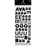 Heidi Swapp - Mask - Alphabet - Reason