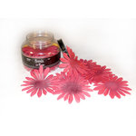 Heidi Swapp - Florals - Jar of 100 Flowers - Crimson, CLEARANCE