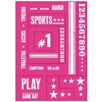 Heidi Swapp - Rub Ons - Themes - Sports, CLEARANCE