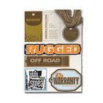Heidi Swapp - Chipboard - Tags - Boy, CLEARANCE