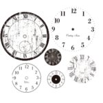 Heidi Swapp - Ghost Clocks - Clear