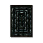 Heidi Swapp - Jewel Art - Bling - Frames - Rectangles - Icee, CLEARANCE