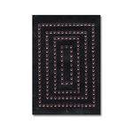 Heidi Swapp - Jewel Art - Bling - Frames - Rectangles - Pink, CLEARANCE